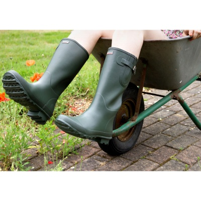 Bosworth Wellington Boots Green Size 7 Adult
